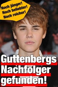 KTs Nachfolger: Justin Bieber