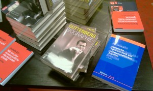 Die Guttenbergbiografie in bester Gesellschaft